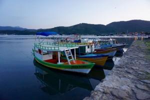 boats in Paraty, Rio