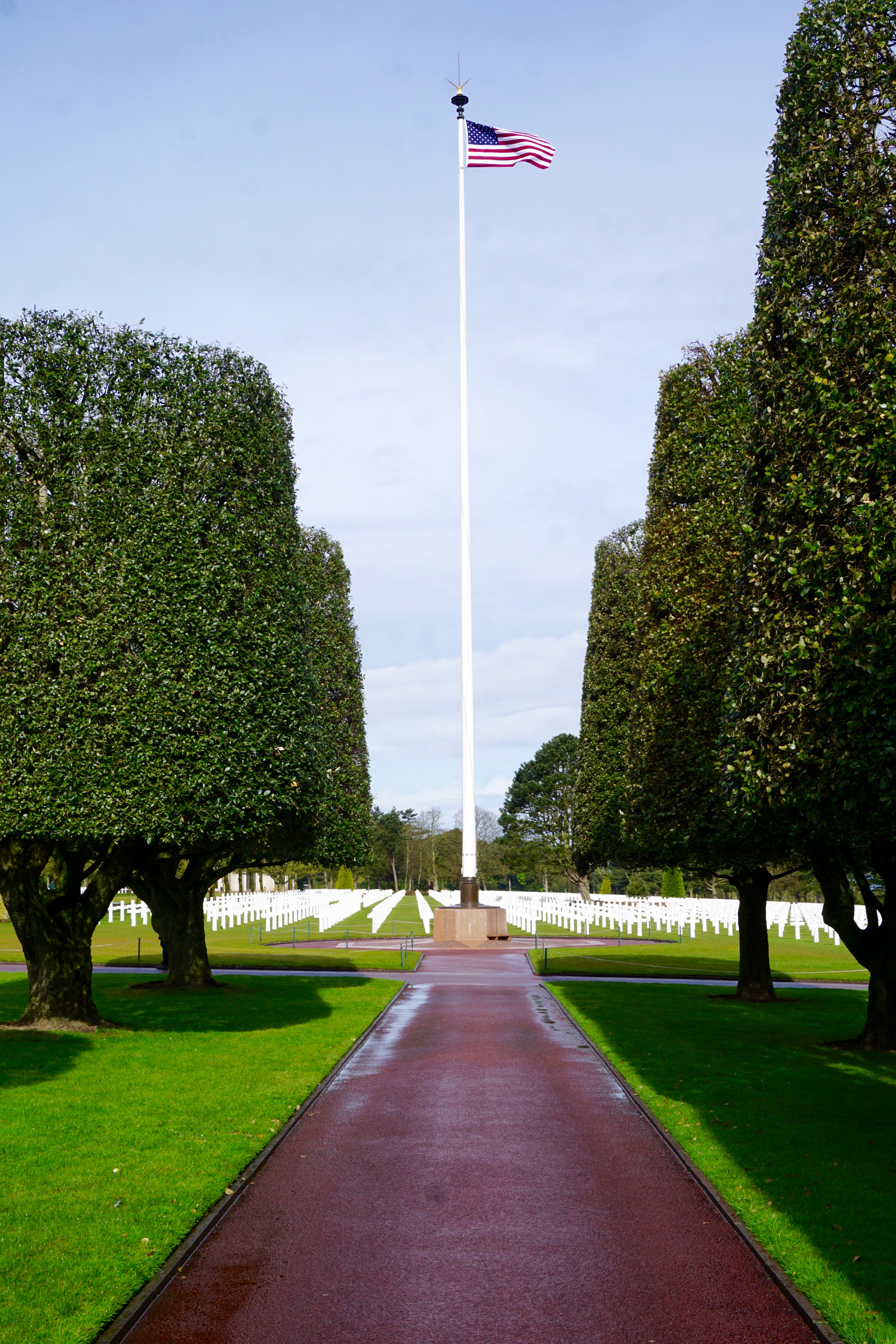 American D-Day Cemetary