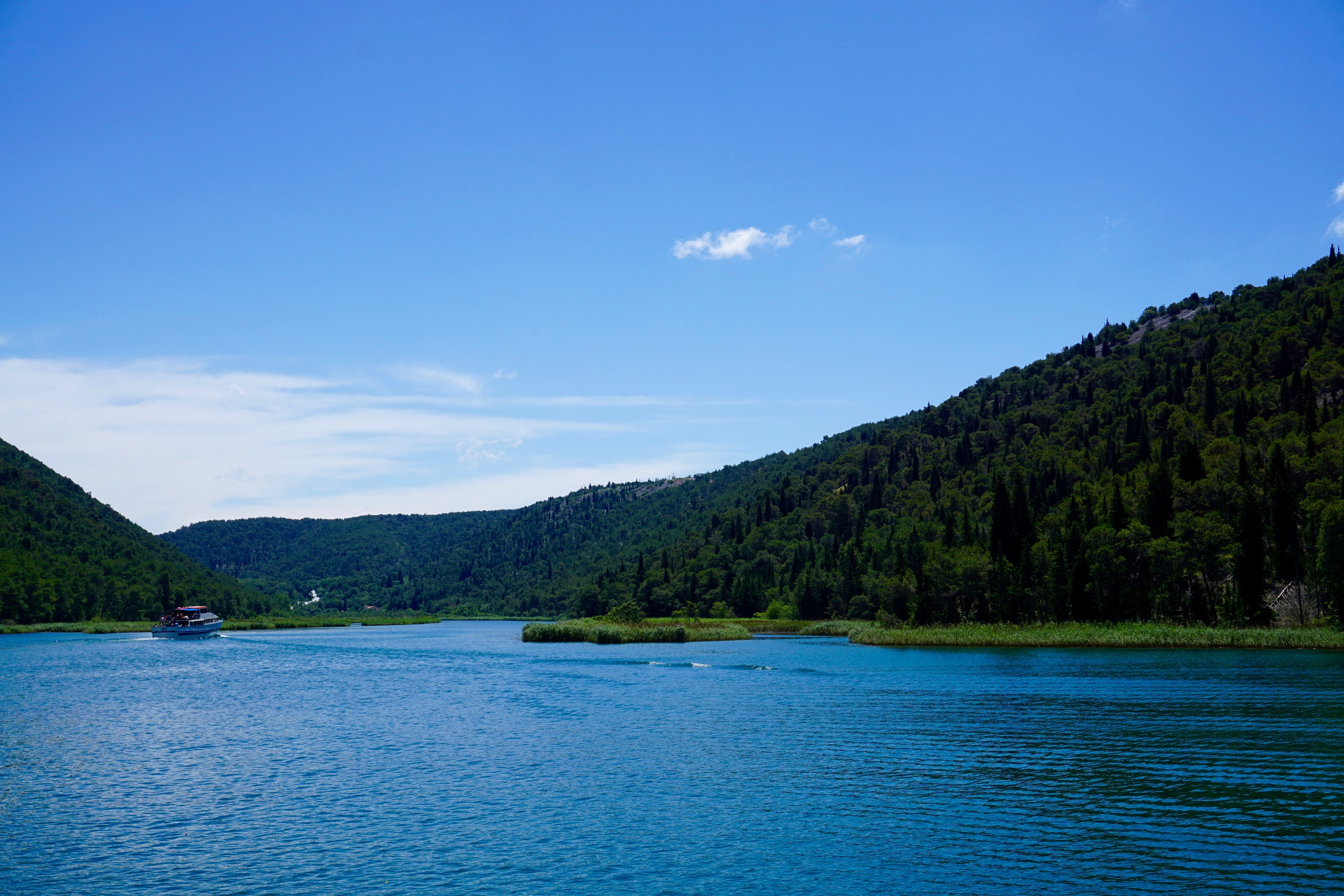 boat to Krka National Park