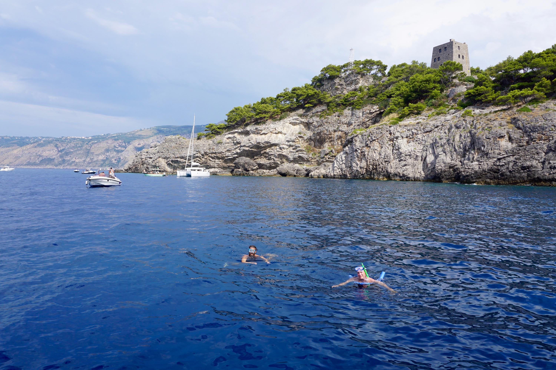 Sean & Tom snorkel