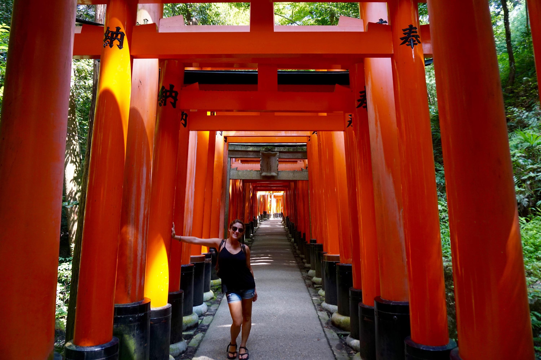 the Fushimi Inari Taisha shrine