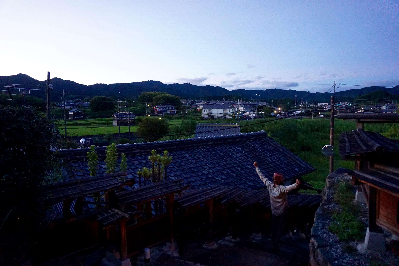 dawn in Asuka