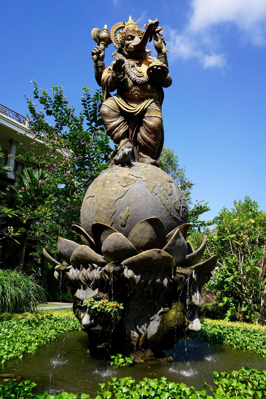 Ganesha, lord of beginnings in Hindu
