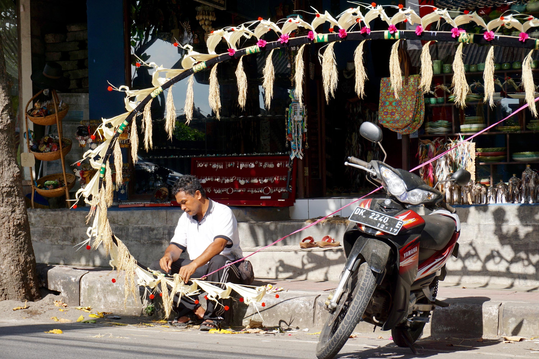 preparing for the Galungan Festival
