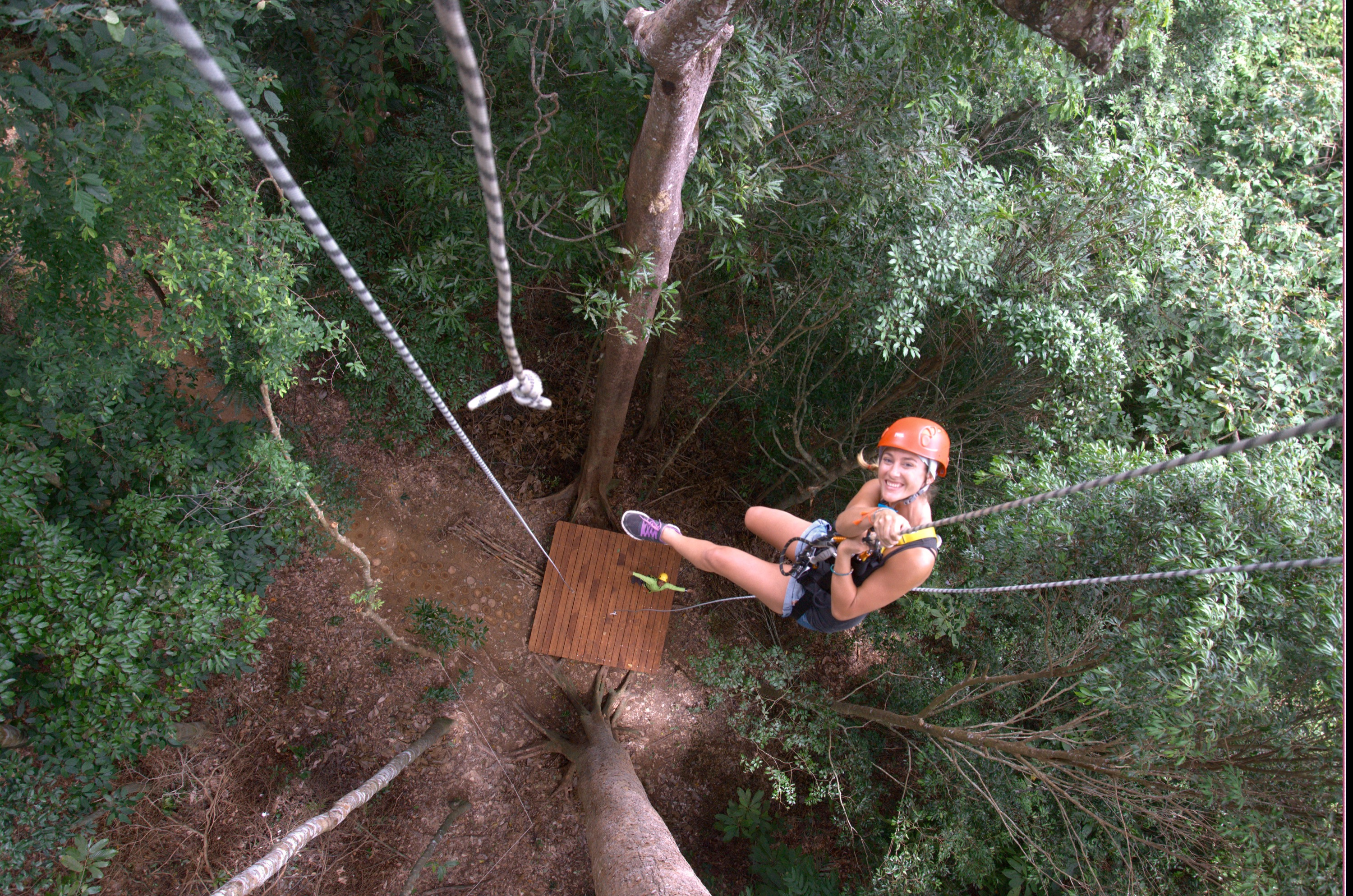 best time on the amazing zip-line