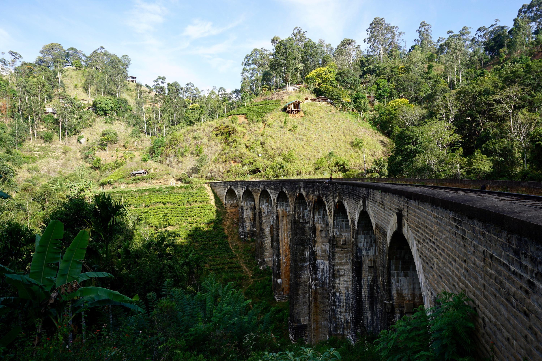 Nine Arch Bridge, can you spot Laura?