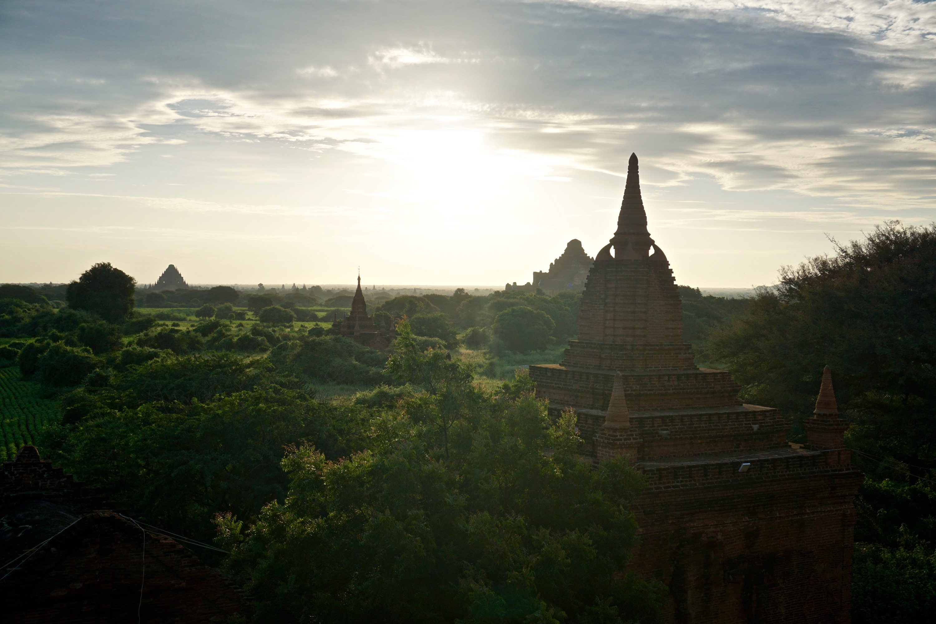 incredible sunrise, Old Bagan