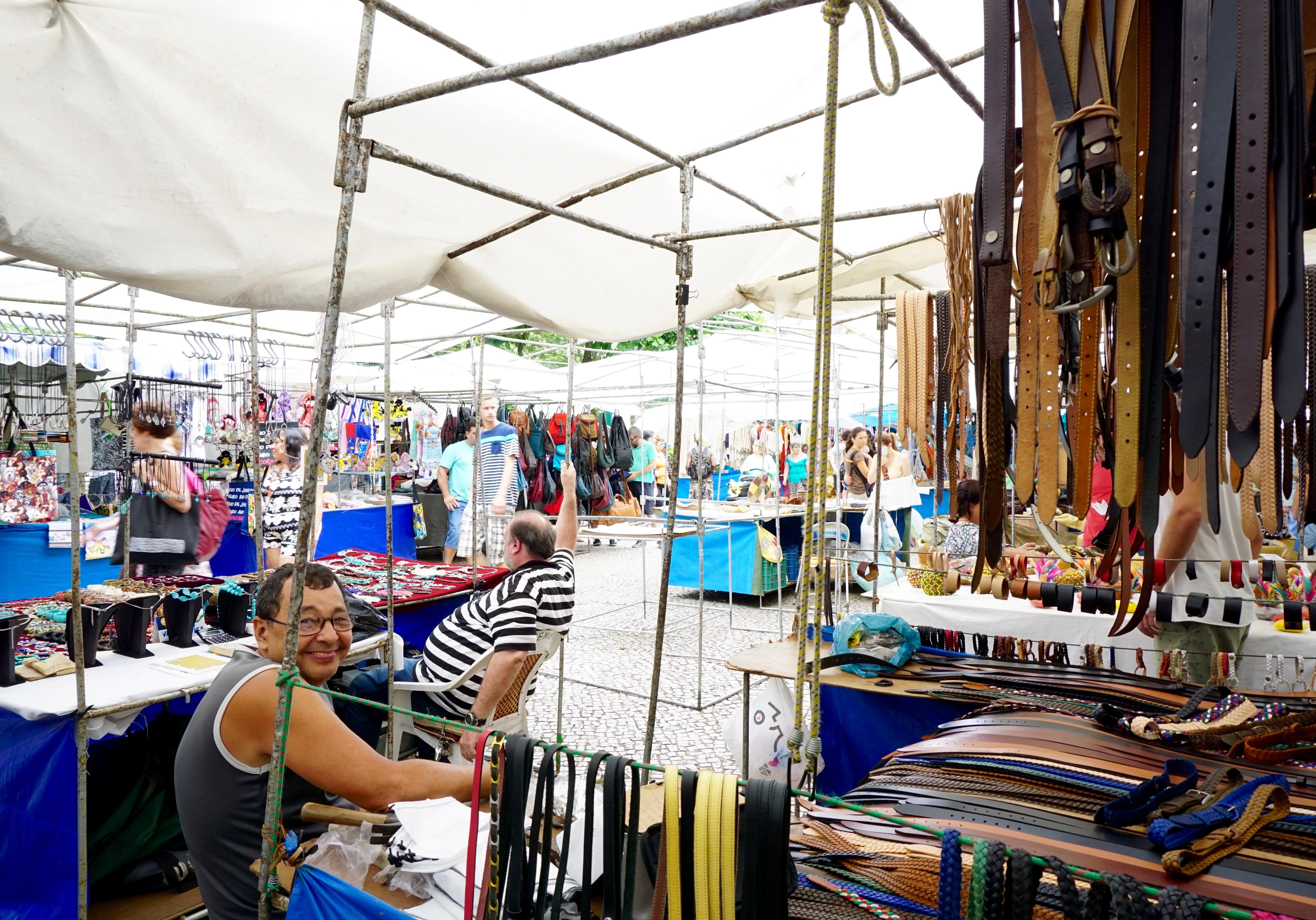 Ipanema's Sunday Hippie Fest