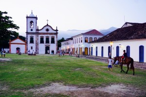 Church in Paraty Rio