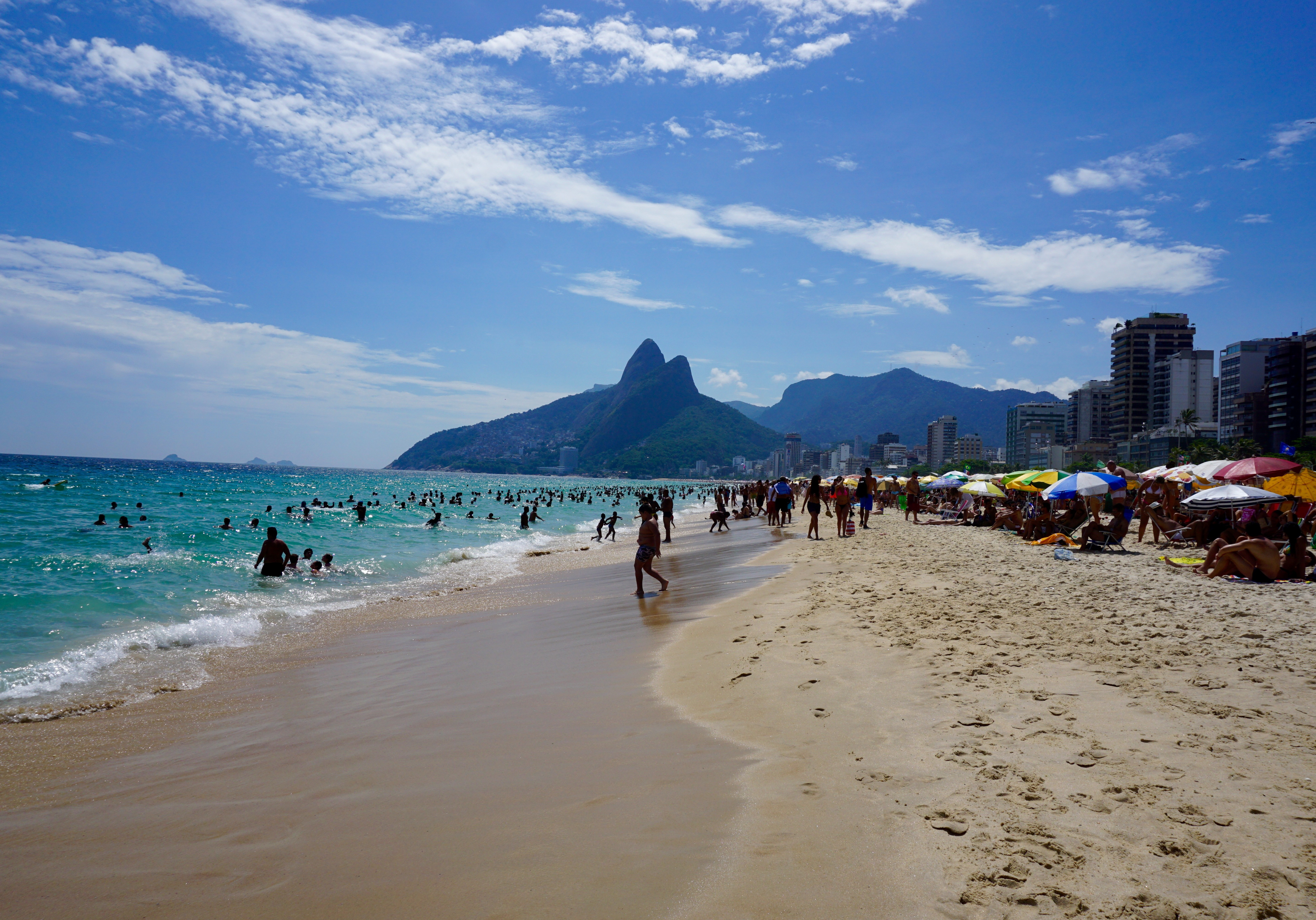 Ipanema Beach, beautiful Rio!