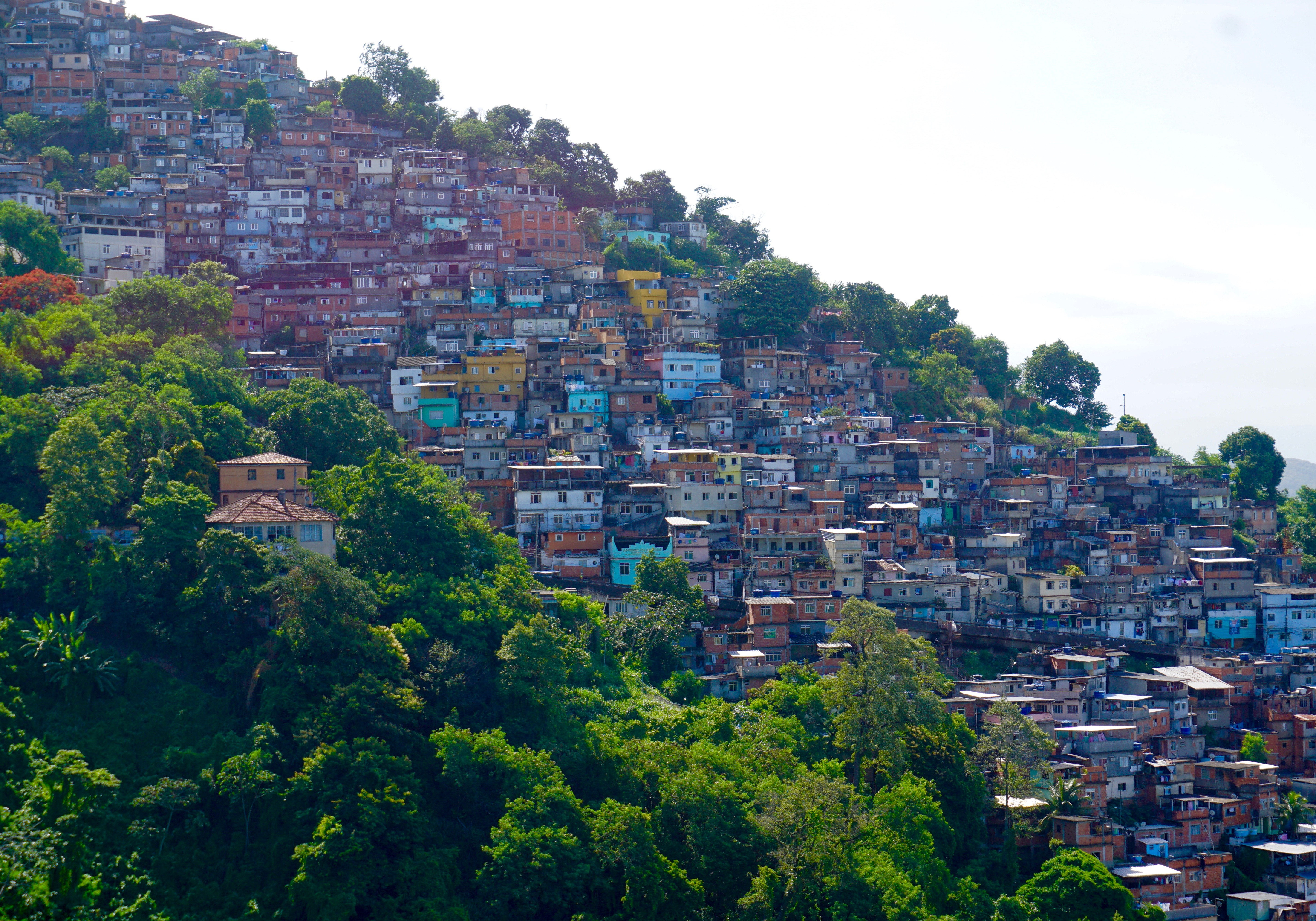 one of many favelas