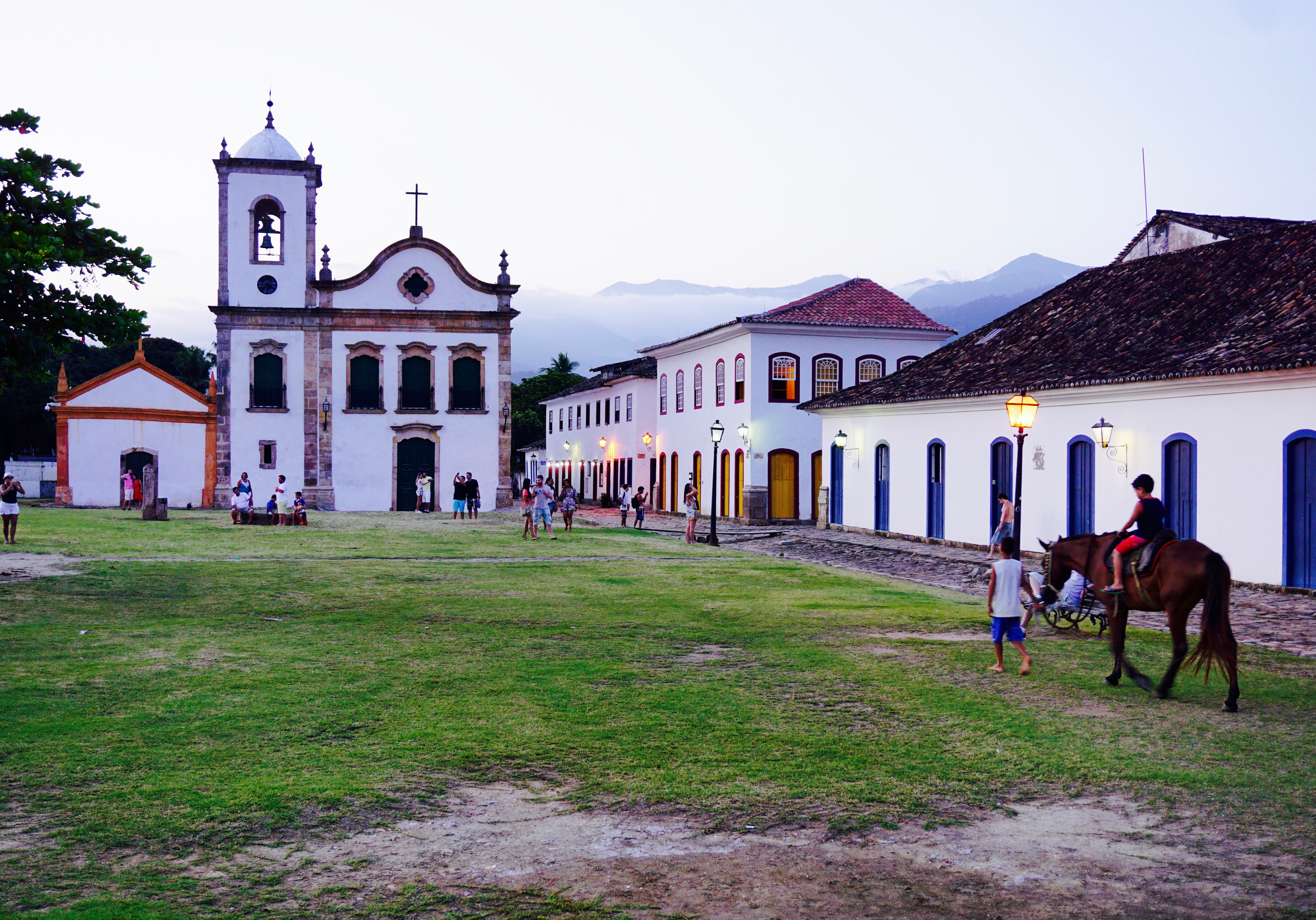 Church in Paraty Rio
