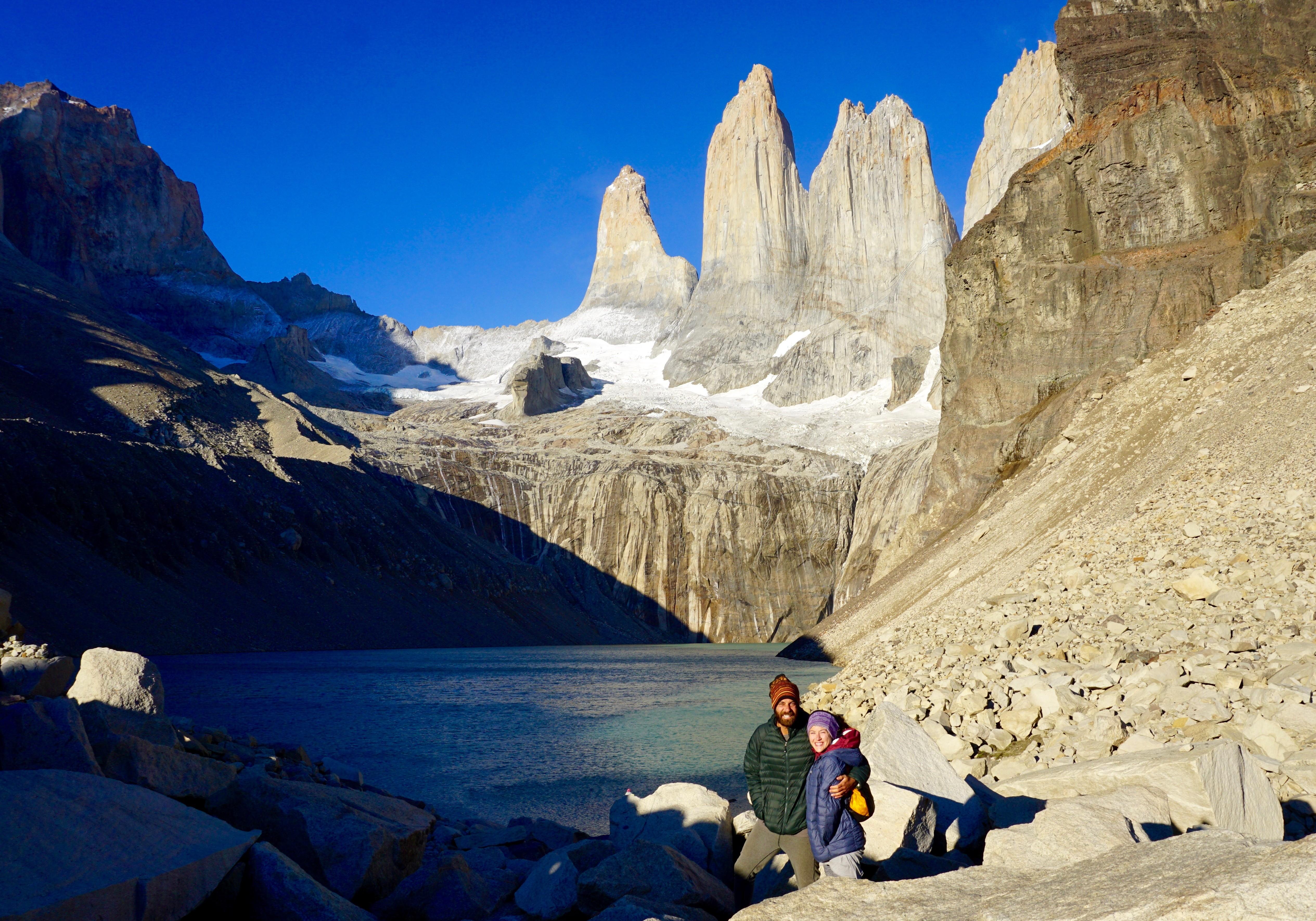 the imposing las Torres