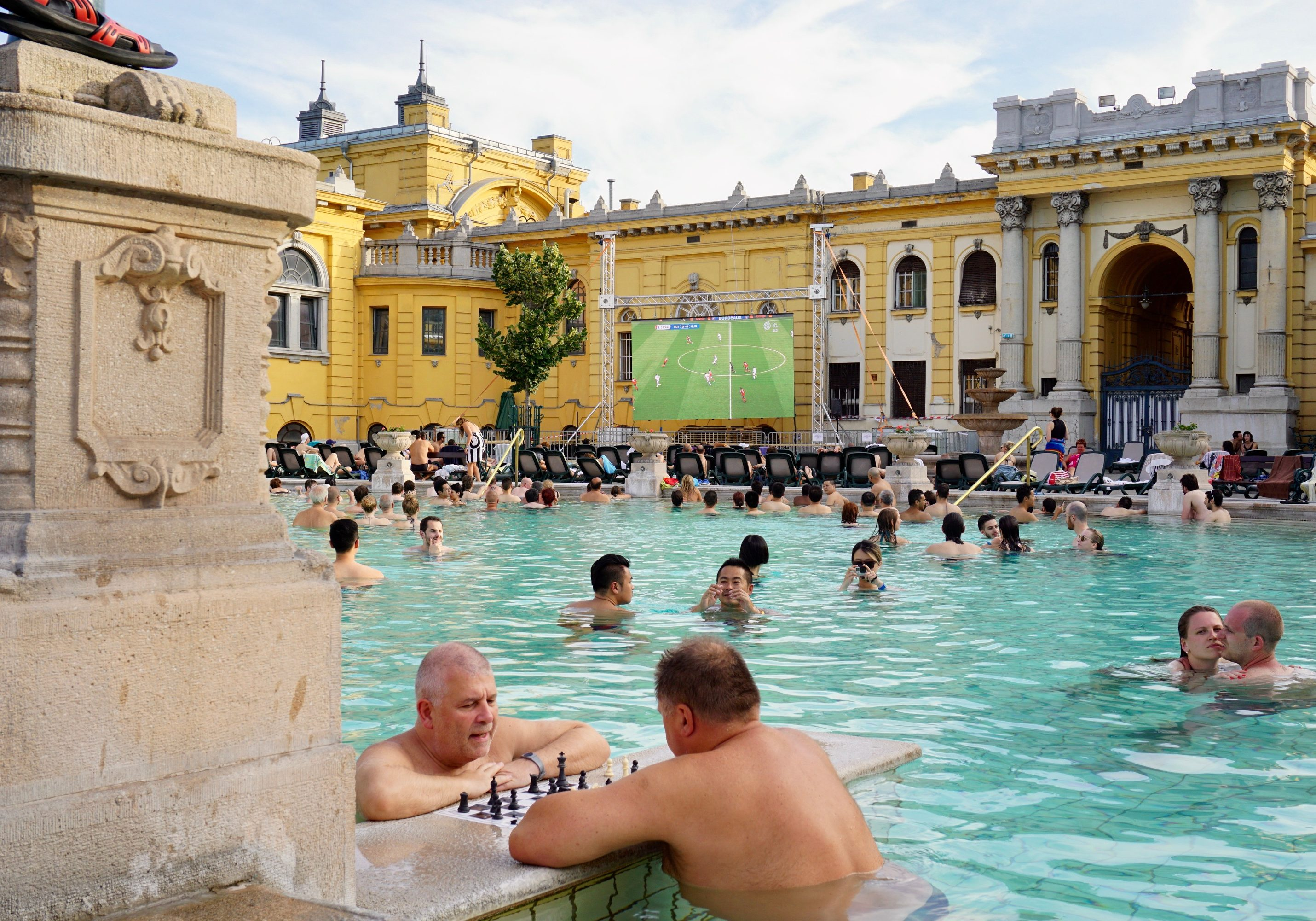 soccer, chess and beer